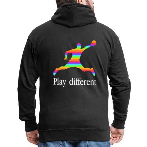 PLAY DIFFERENT - Veste à capuche Premium Homme