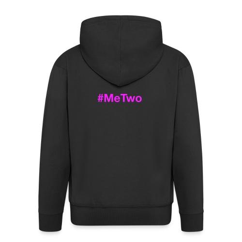 MeTwo, Setze ein Zeichen gegen Rassismus - Männer Premium Kapuzenjacke