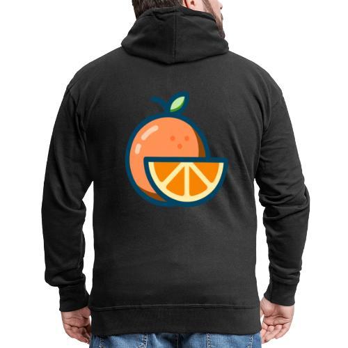 orange - Men's Premium Hooded Jacket