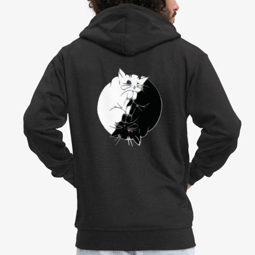 Yin and Yang - Veste à capuche Premium Homme