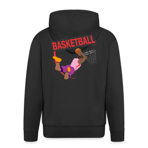 Basketball - Veste à capuche Premium Homme