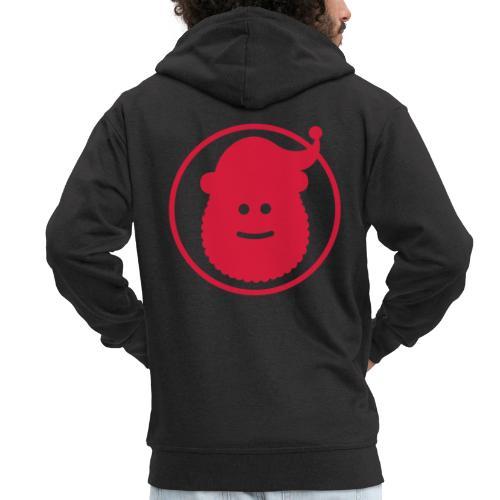 Santa Claus Avatar - Men's Premium Hooded Jacket