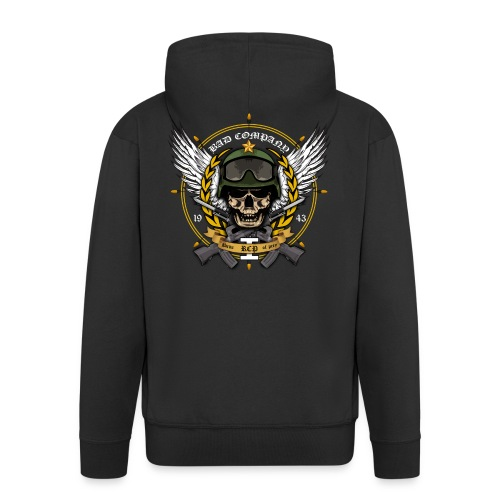 bad company - Men's Premium Hooded Jacket