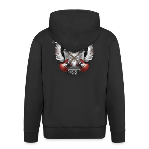 Darkness Light 2019 - Men's Premium Hooded Jacket