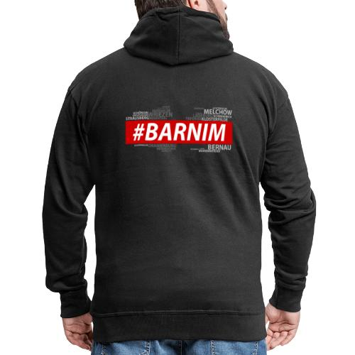 HASHTAG BARNIM - Männer Premium Kapuzenjacke