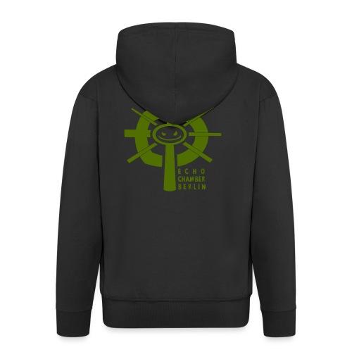 Echochamber Logo grün - Männer Premium Kapuzenjacke