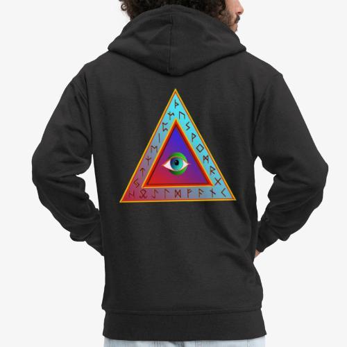 Dreieck - Männer Premium Kapuzenjacke
