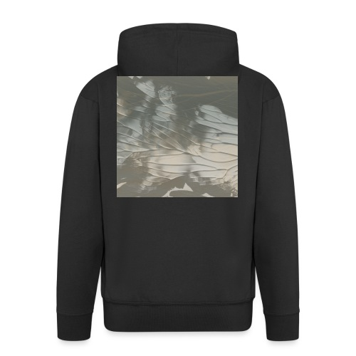 tie dye - Men's Premium Hooded Jacket
