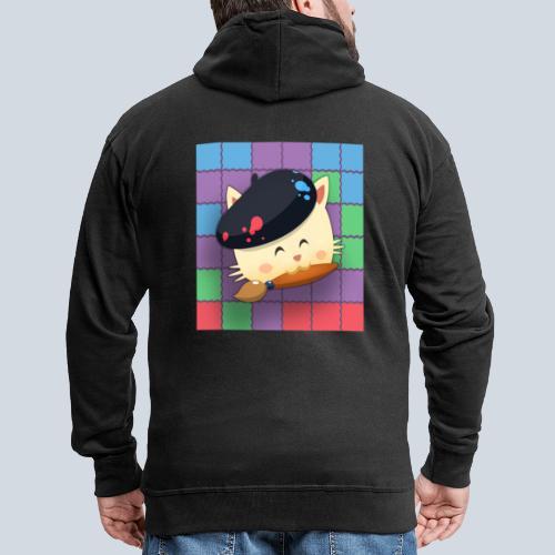 Hungry Cat Picross - Veste à capuche Premium Homme