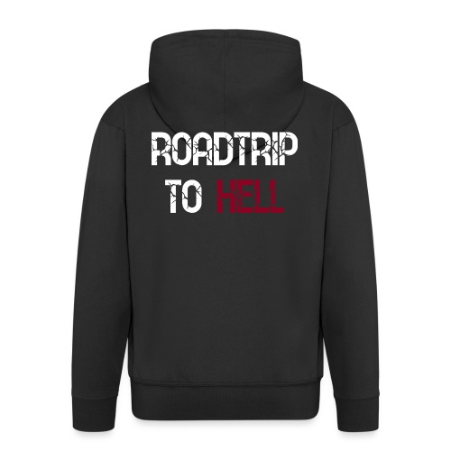Roadtrip To Hell - Männer Premium Kapuzenjacke