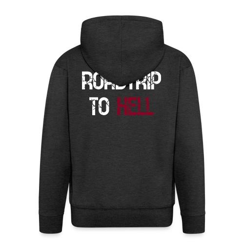 Roadtrip To Hell - Männer Premium Kapuzenjacke