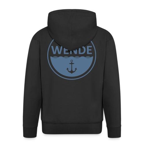 Wende Logo - Männer Premium Kapuzenjacke
