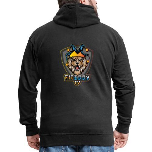 Lions Anarchy - Männer Premium Kapuzenjacke