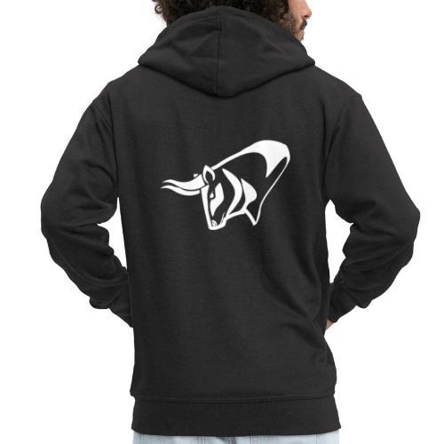 Bull - Men's Premium Hooded Jacket