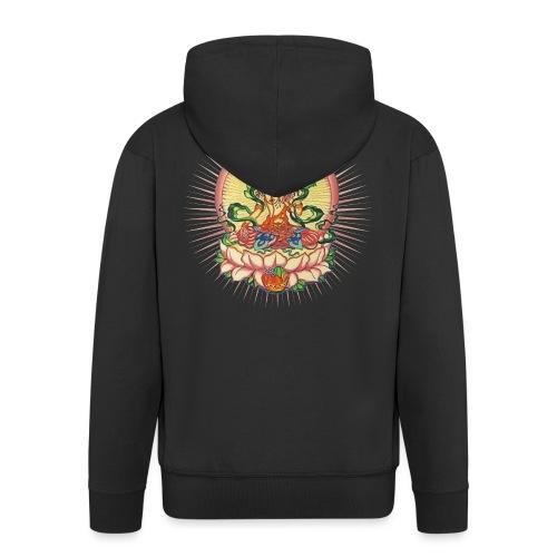 Tara Tibet Buddhismus Lotus Meditation Yoga - Männer Premium Kapuzenjacke
