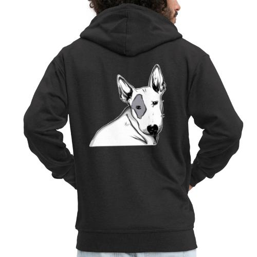 Bull Terrier 2 - Veste à capuche Premium Homme