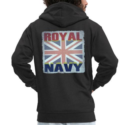 ROYAL NAVY - Men's Premium Hooded Jacket