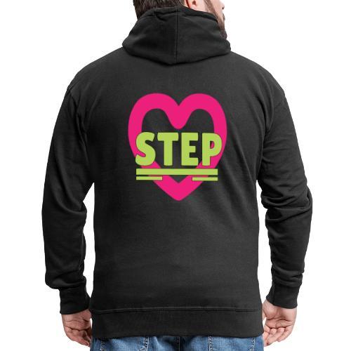 lovestep - Men's Premium Hooded Jacket
