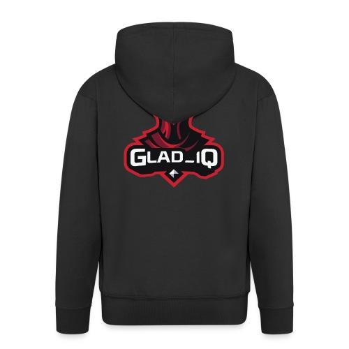 Glad_IQ Logo 1 - Männer Premium Kapuzenjacke