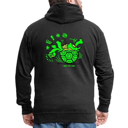 Unlucky Turtle - Men's Premium Hooded Jacket