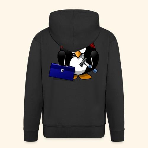 Pinguin Handwerker - Männer Premium Kapuzenjacke