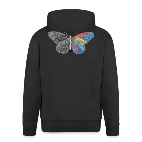 butterfly effect - Männer Premium Kapuzenjacke