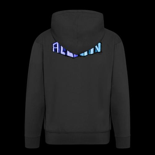 All In scribble - Men's Premium Hooded Jacket