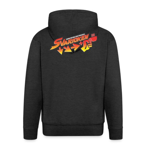 Maglietta Svarioken - Felpa con zip Premium da uomo