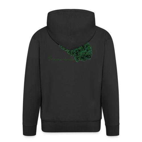 Piensa verde - Chaqueta con capucha premium hombre