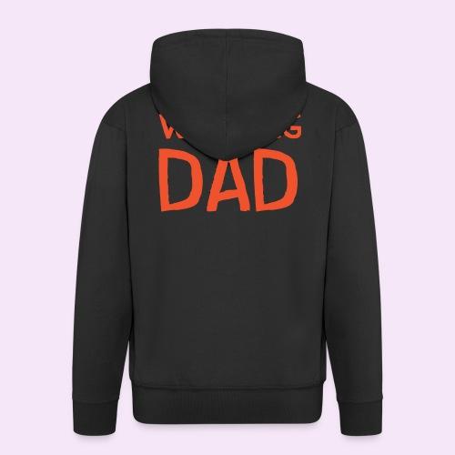 Vierdaagse Nijmegen - Walking Dad RED - Mannenjack Premium met capuchon