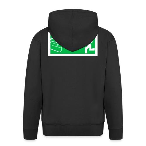 """Billard Shirt """"Notausgang Billard"""" - Pool Billard - Männer Premium Kapuzenjacke"""