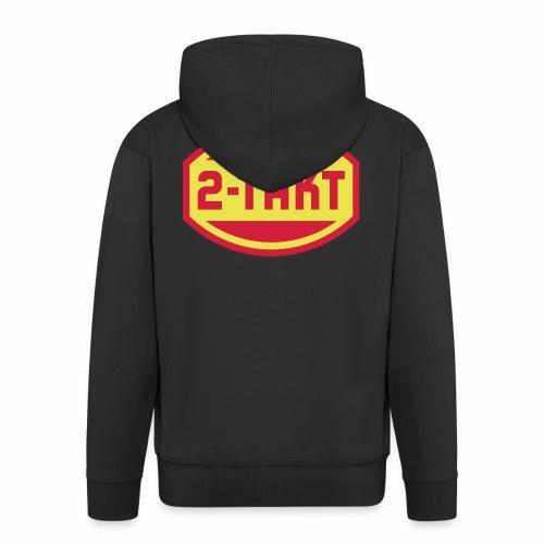 VEB 2-Takt Logo (2c) - Men's Premium Hooded Jacket