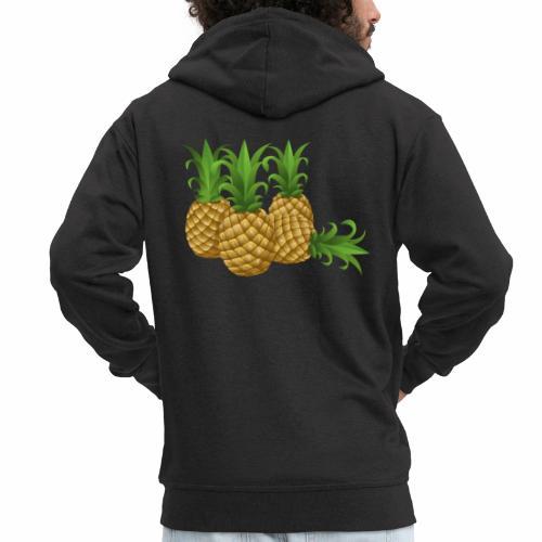 Ananas - Männer Premium Kapuzenjacke