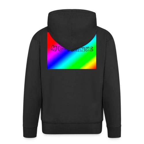 MO-Pranks rainbow - Premium Hettejakke for menn