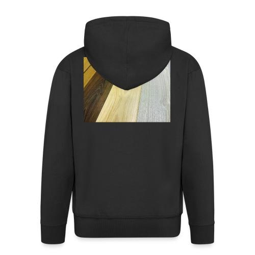 Texturas - Chaqueta con capucha premium hombre