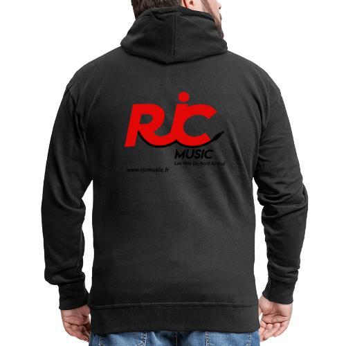 RJC Music avec site - Veste à capuche Premium Homme