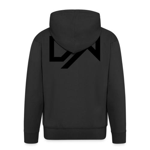 DewKee Logo Samung Galaxy S4 Case Black - Men's Premium Hooded Jacket