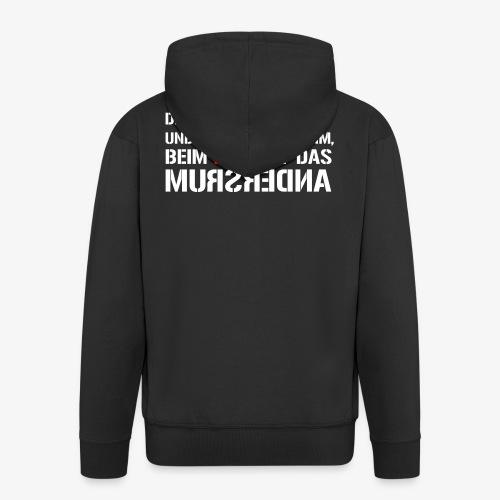 Fuchs und Nazi - Antifa - Männer Premium Kapuzenjacke