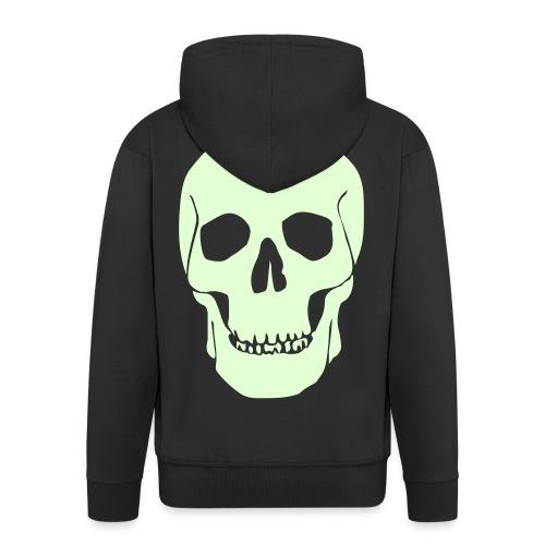skull - Männer Premium Kapuzenjacke