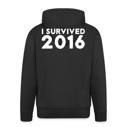 I SURVIVED 2016 - Men's Premium Hooded Jacket