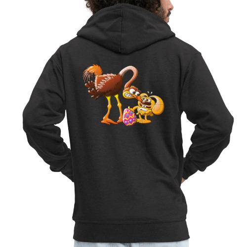 Ambitious Easter Bunny - Men's Premium Hooded Jacket