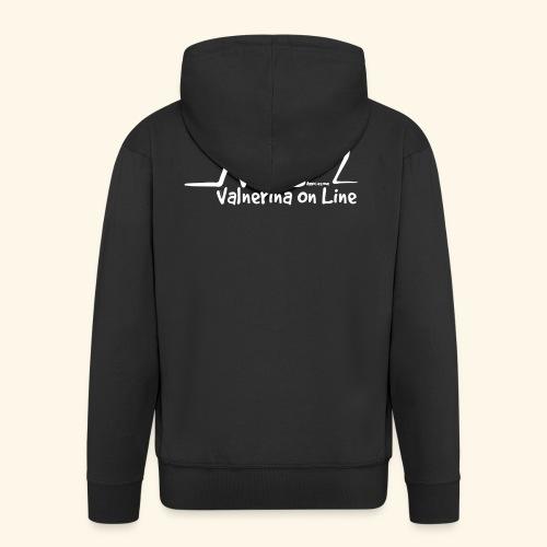 Valnerina On line APS maglie, felpe e accessori - Felpa con zip Premium da uomo