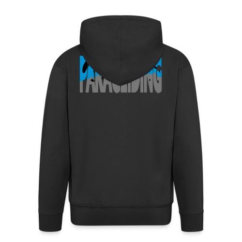 Paragliding Letters - Men's Premium Hooded Jacket