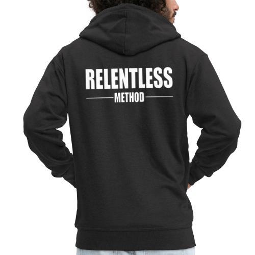 Relentless Method White - Premium-Luvjacka herr
