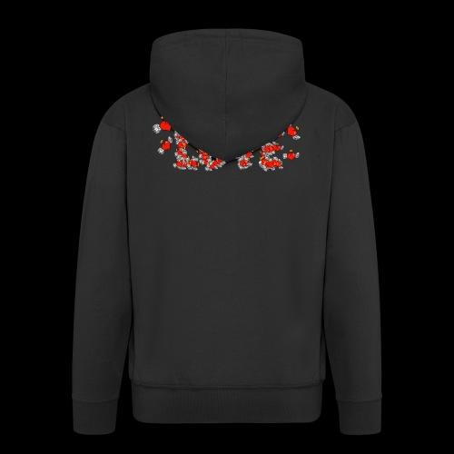 Flying Hearts LOVE - Herre premium hættejakke