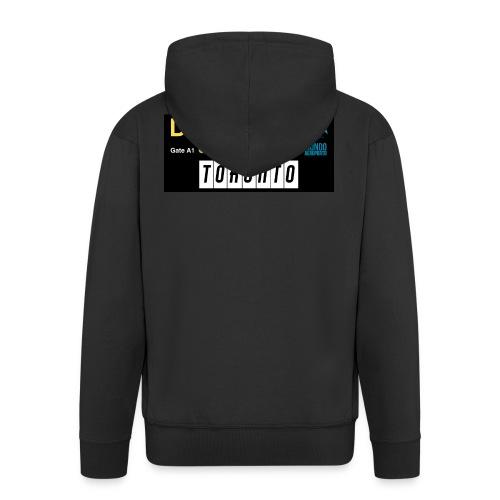 TORONTO png - Felpa con zip Premium da uomo