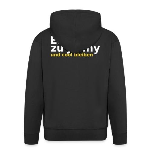 Erstmal zu Jenny - Männer Premium Kapuzenjacke