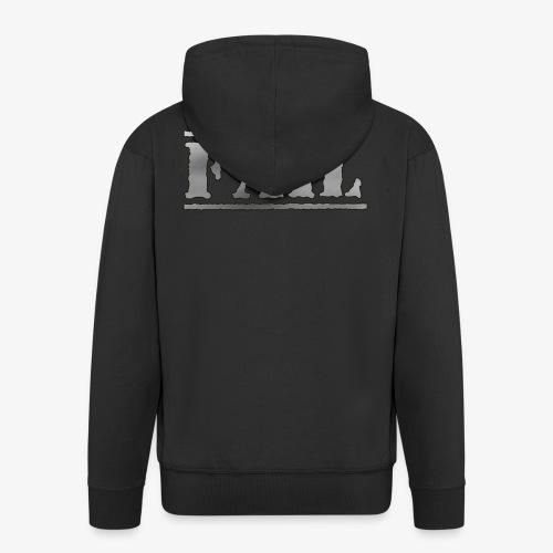 FAIL - Miesten premium vetoketjullinen huppari