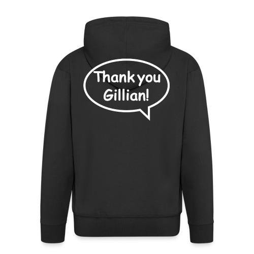 Bubble Gillian - Men's Premium Hooded Jacket