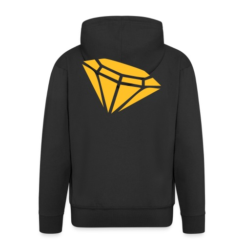 Diamond - Men's Premium Hooded Jacket
